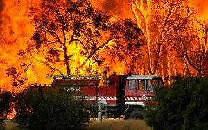 bushfire-firetruck