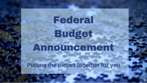 Federal Budget Announcement
