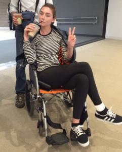 wheelchair traveller