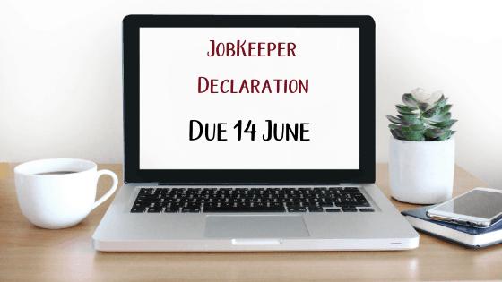 Jobkeeper Declaration Due